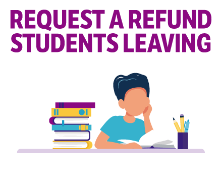 Refund Student Leaving District Button